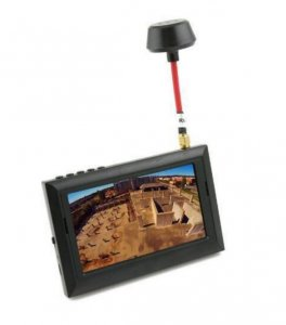 "4.3"" FPV Display Monitor 5.8GHz 32CH (RaceBand)"