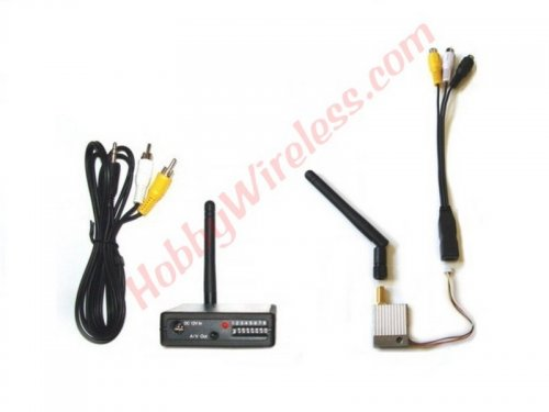 *TR524 2.4 GHz 500mW FPV Transmitter and Receiver Set (discontinued)