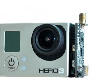 *Mini Bird 5.8GHz 250mw Audio & Video Transmitter For GoPro 3/4 Cameras