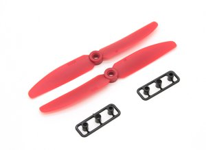 *5x3 Red 2 Piece Propeller Set (CW, CCW)