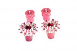3D M4 Gimbal Stick End (Grand Lotus Style) Red