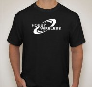 HOBBY WIRELESS T SHIRT (MEDIUM) - FREE WITH ORDERS OF $150.00 OR MORE