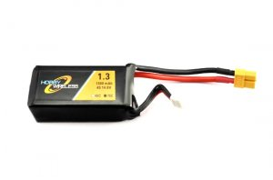 Hobby Wireless 1300mAh 14.8v 4S 75C Lipo Battery (XT-60)