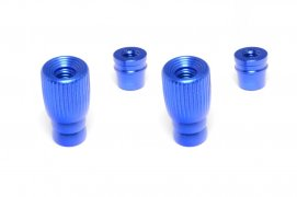 3D M4 Gimbal Stick End (Pole Style) Blue