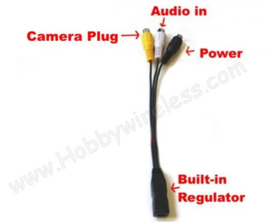 T524 & T512 Replacement Cable (5V Built-in Regulator) - Click Image to Close