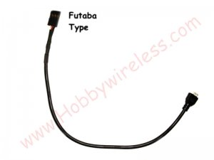 (Futaba type) Plug and Play Cable for SN555 cameras