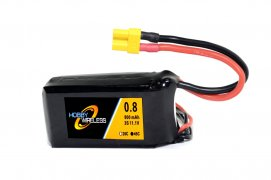 Hobby Wireless 800mAh 11.1v 3S 45C Lipo Battery XT30 (XT 30)