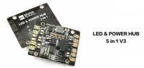 LED and Power Hub 5 in 1 Power Distribution Board