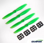 *Gemfan 5x3 Green 4 Piece Propeller Set (CW)
