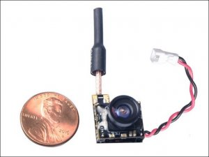 Wolfwhoop Micro Camera and 5.8GHz 48 Channel 25mW VTX Combo