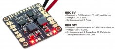 Power Distribution Board Hub (PDB) 5v/12v BEC