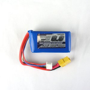 Turnigy 800mAh 11.1v 3S Lipo Battery 30C (XT-60)