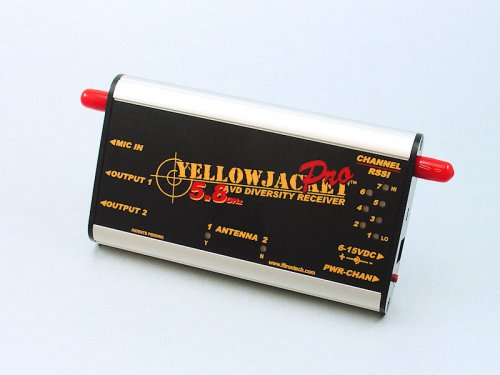 YellowJacket 5.8 GHz Pro Diversity FPV Receiver