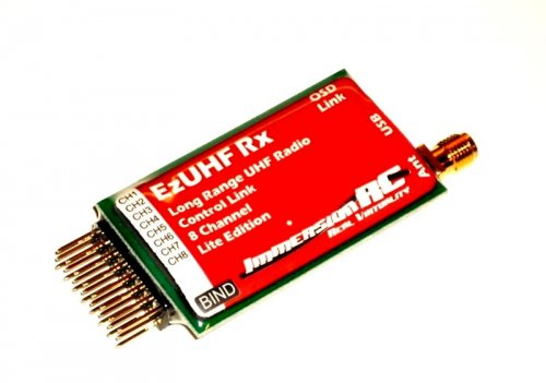 EZUHF RX LITE 8 Channel Long Range Receiver