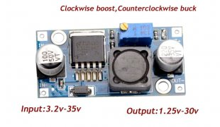 LM2596 Adjustable DC Step Down Only Voltage Regulator