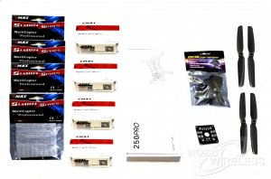 Nighthawk 250 V2 Carbon Fiber Quadcopter Combo Kit