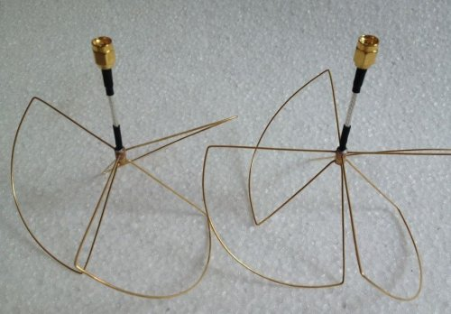 1.2ghz Clover Leaf Antenna Set (SMA)
