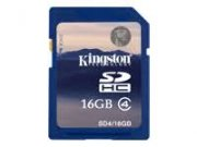 16GB Kingston SDHC Memory Card Class 4 Flash