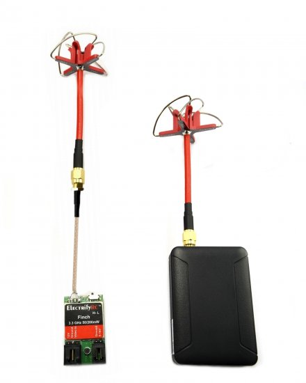 FINCH 3.3-3.4GHz COMBO (TX + RX+ RHCP ANTENNA) PIGTAIL US VERSION - Click Image to Close