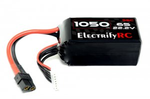 1050mAh 22.2v 6S 55C Pro Racing Edition Lipo Battery (XT-60) ElectrifyRC