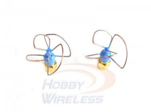 5.8GHz Blue Beam Omni Antenna Set (RHCP) - VAS IBCRAZY