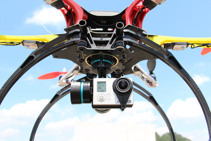 FY-G3Ultra 3-Axis Aircraft Gimbal