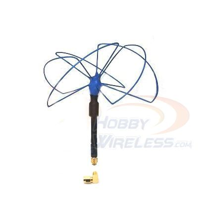 IBCrazy Mad Mushroom 2.4 GHz Antenna (RHCP) - Click Image to Close