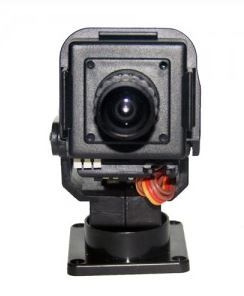 Camera with pan tilt for FPV