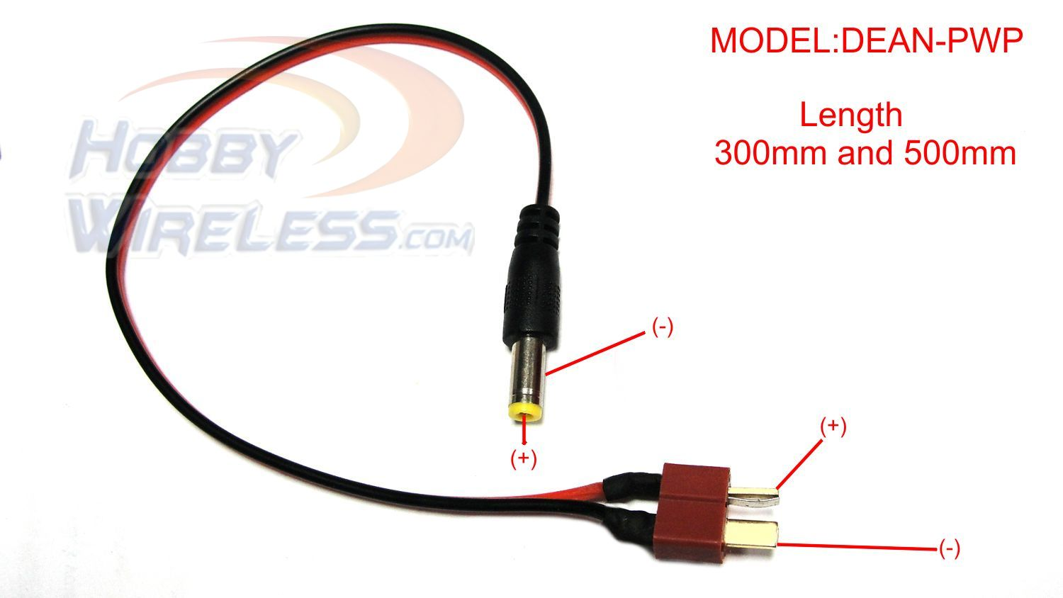Power Plug 2.1mm to Deans Plug