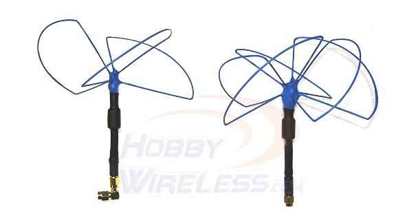 Blue Beam Ultra 900MHz Antenna Set - RHCP -SMA Male