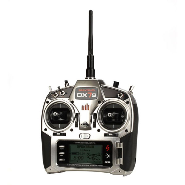 DX7s 7-Channel DSMX® Transmitter with AR8000 Receiver, Mode 2