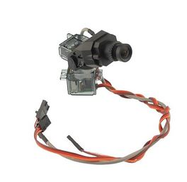 FatShark 700TVL V2 WDR CMOS Camera on Pan/Tilt
