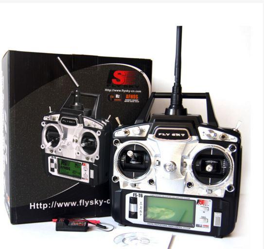 FLY SKY FS-T6 2 4 GHz 6 Channel Radio Control System FlySky