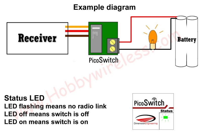 Pico Switch R/C Relay - Click Image to Close
