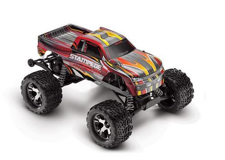1/10 Stampede VXL RTR, TQI 2.4GHz, without Module, Red