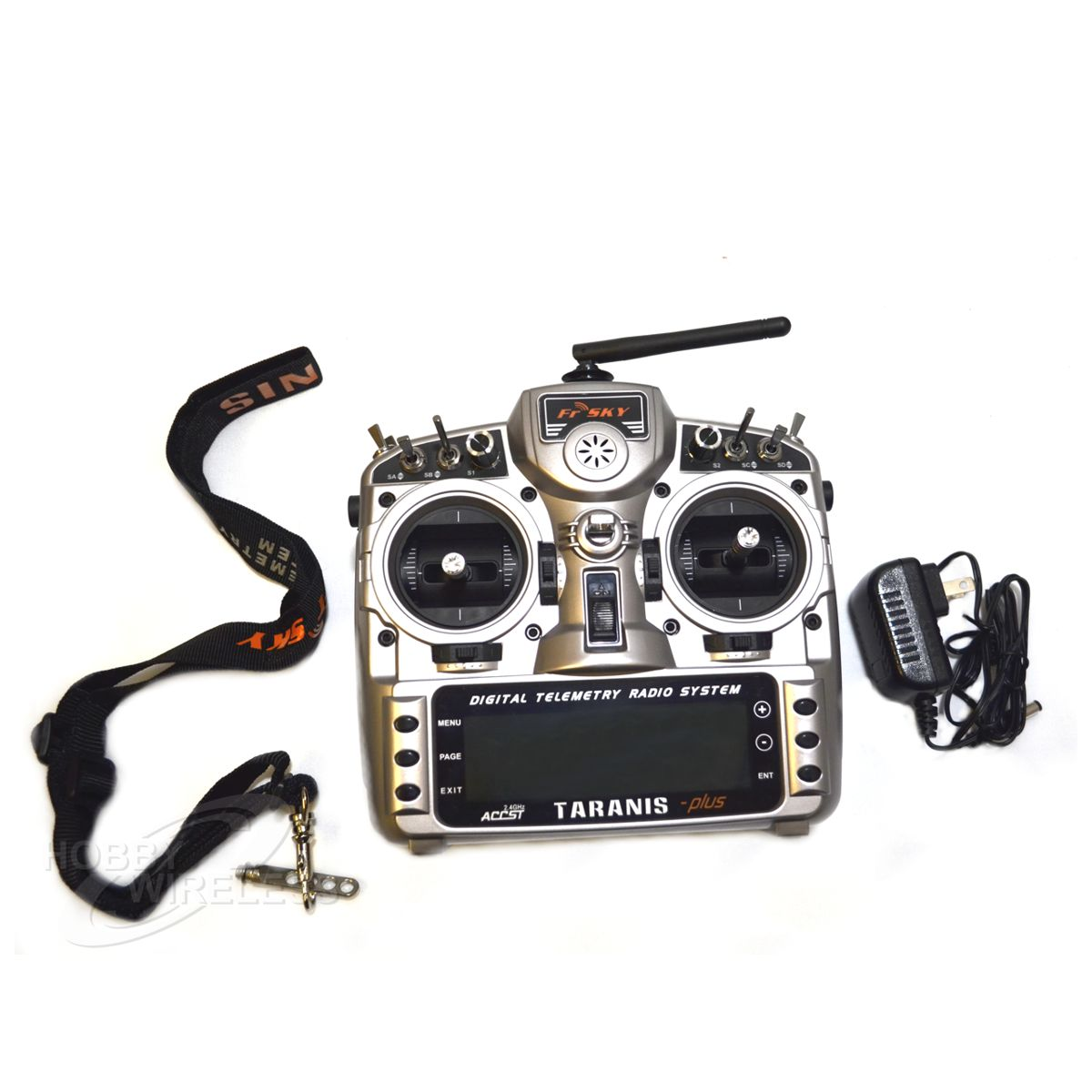 FRSky Taranis X9D Plus 2.4 GHz ACCST Radio & X8R Receiver (Mode 2) - Click Image to Close
