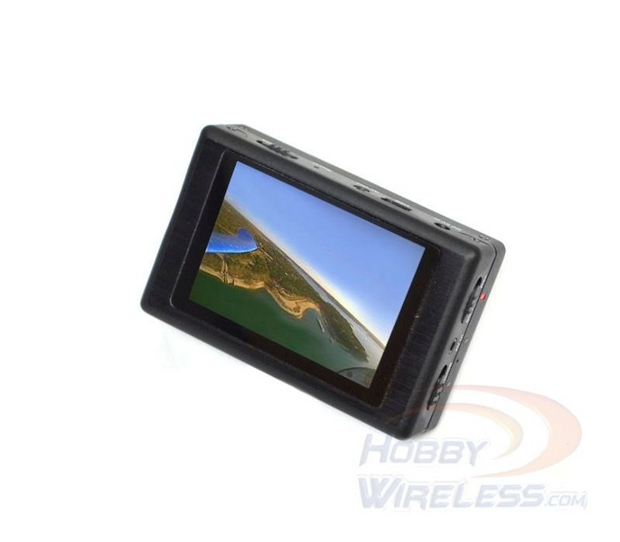 Black Box FPV Recorder with built-in LCD (High recording quality and never goes to blue screen).