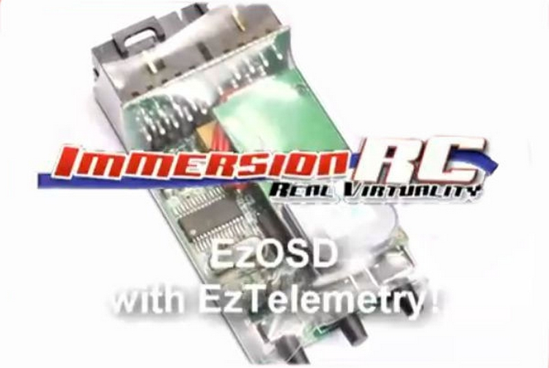 EzOSD On Screeen Display with Dean's Connectors