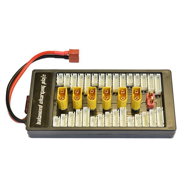 6 Parallel Balance Charging Board - Deans