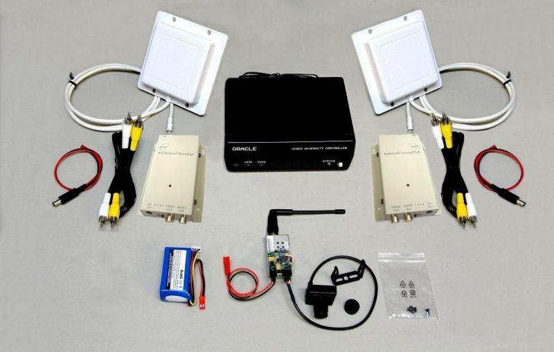 FPV-PRO980 Kit 500mW 900MHz Double Reception - Best 900 MHz system - Camera is optional