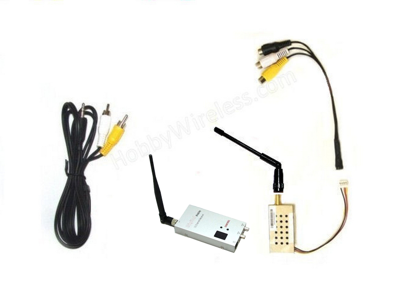 TR1012-PLUS DUO Combo Set Receiver and Transmitter V2 1.2/1.3 GHz -500/1000mW -International