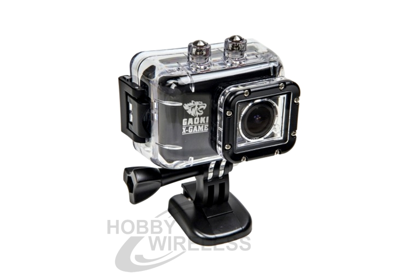X-GAME V4 1080P HD CAMERA V4 WITH LCD AND REMOTE