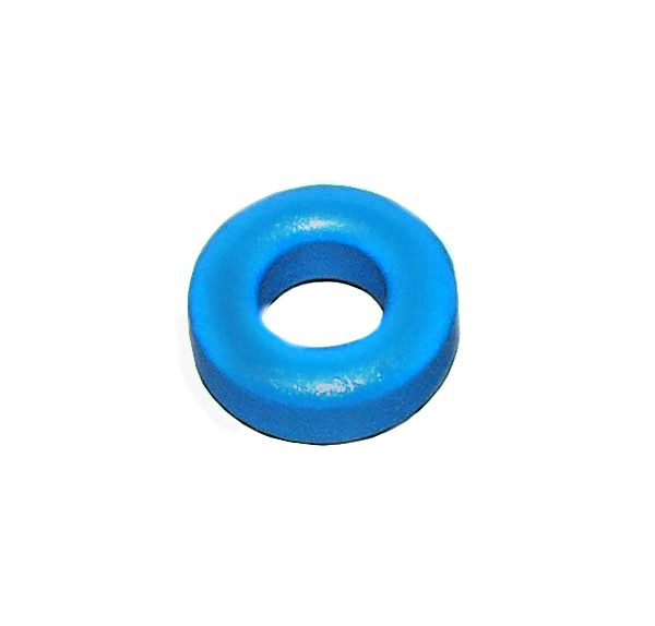 "Toroidal Ferrite Ring 12.5mm (0.49"") Coated Noise Suppressor"