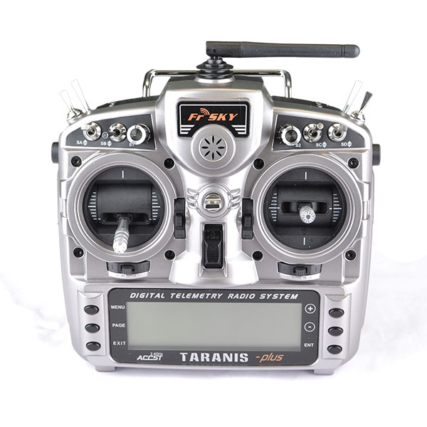 TARANIS X9D PLUS 2.4GHz ACCST WITH UPGRADED 2000mAh BATTERY INCLUDED (MODE 2)