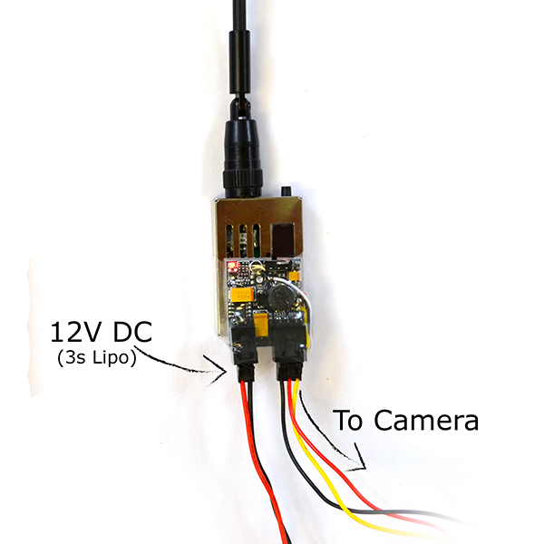 TXV13100 1000mW 1.2 GHz Plug and Play Transmitter 1258/1280 MHz - (US Version)
