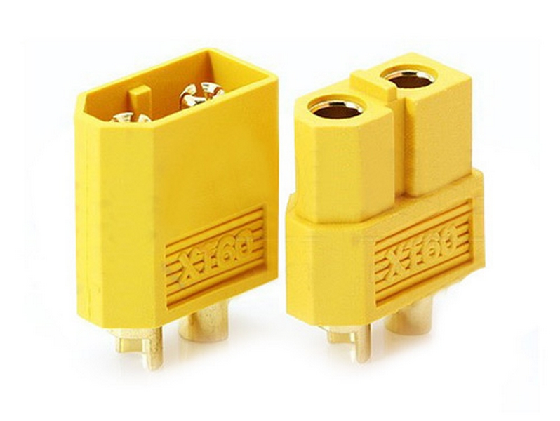 XT60 CONNECTOR SET - MALE AND FEMALE